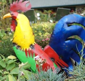 Rooster Animal Sloat Garden Center