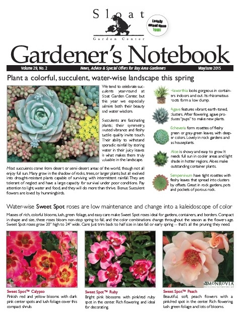Notebook - Sloat Garden Center