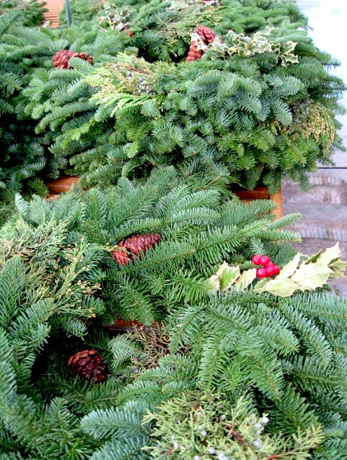 wreaths garland
